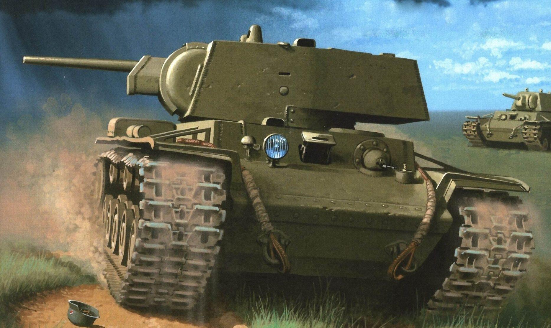 Wróbel Arkadiusz. Тяжелый танк КВ-1.