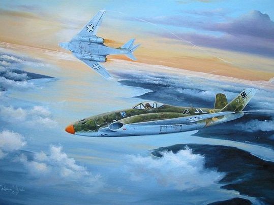 Wilson Randall. Турбореактивный истребитель Messerschmitt Me-262.