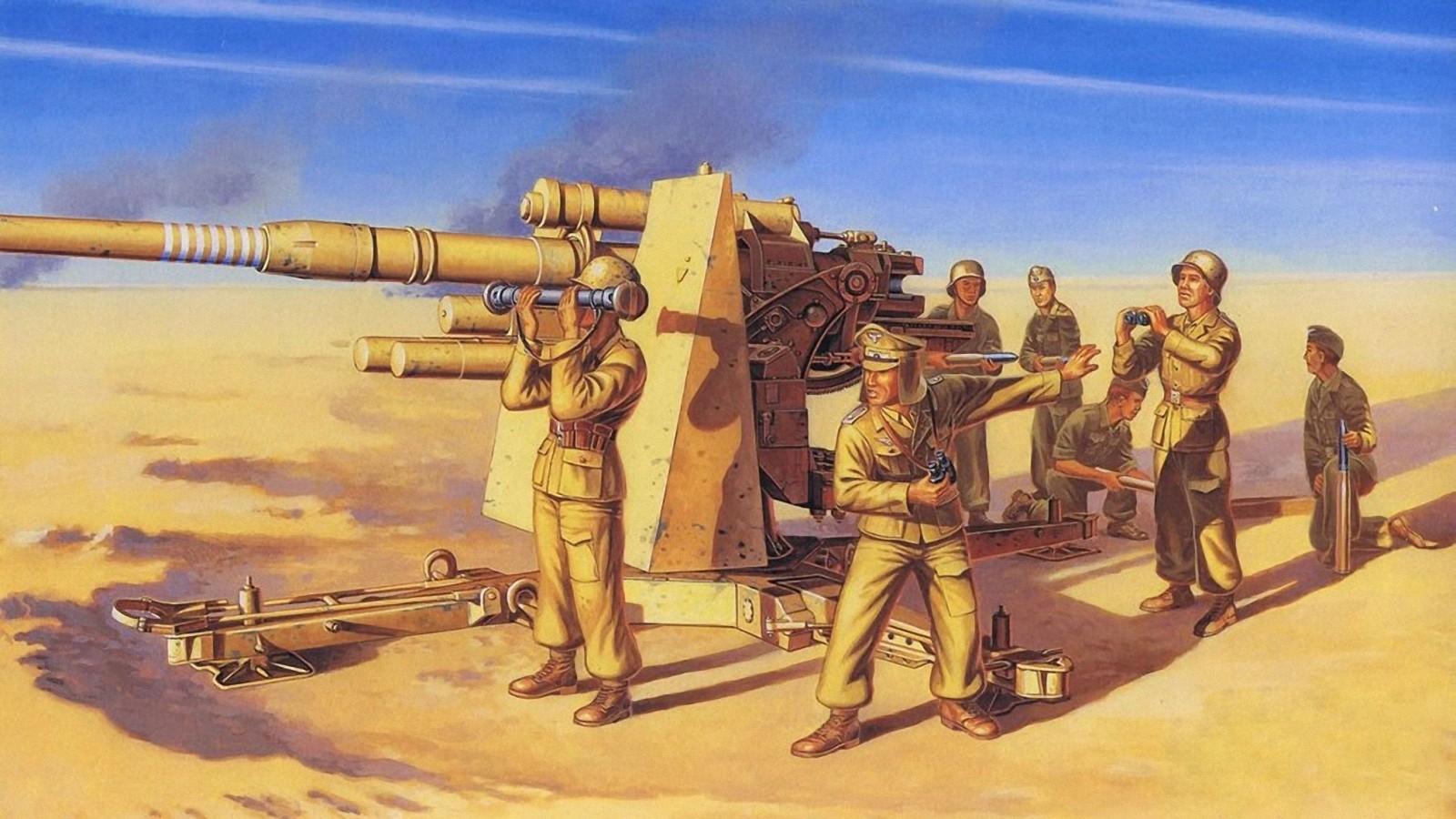 Deredos Andrzej. Зенитное оружие 8,8cm Flak 37.