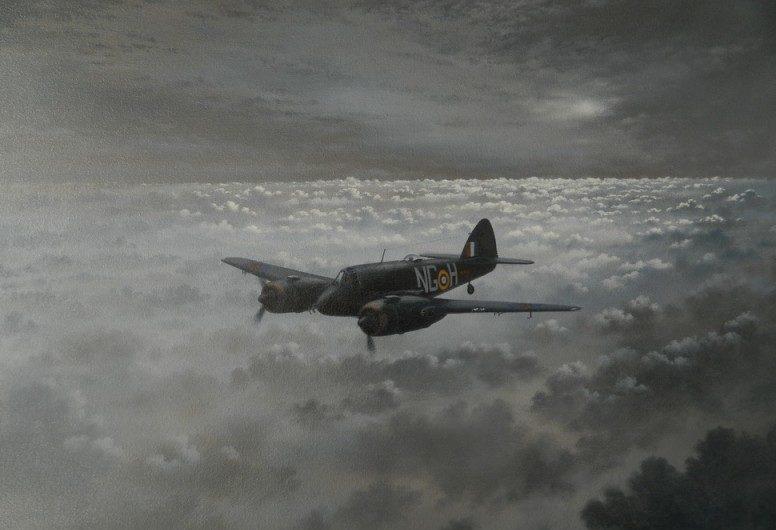 Jones John. Ночной истребитель Bristol Beaufighter Mk. 1F.