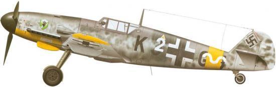 Tullis Tom. Истребитель Bf-109 G-4.
