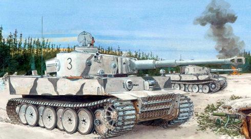 Volstad Ronald. Танк Panzer VI «Tiger». Ростов на Дону, 1943 г.