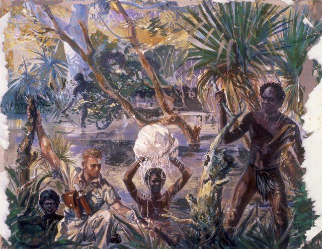 Hodgkinson Roy. Американец и аборигены.