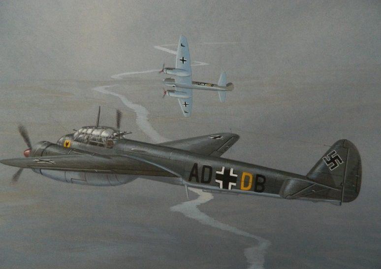 Jones John. Бомбардировщики Ju-88.