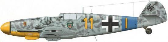 Tullis Tom. Истребитель Bf-109 G-5.