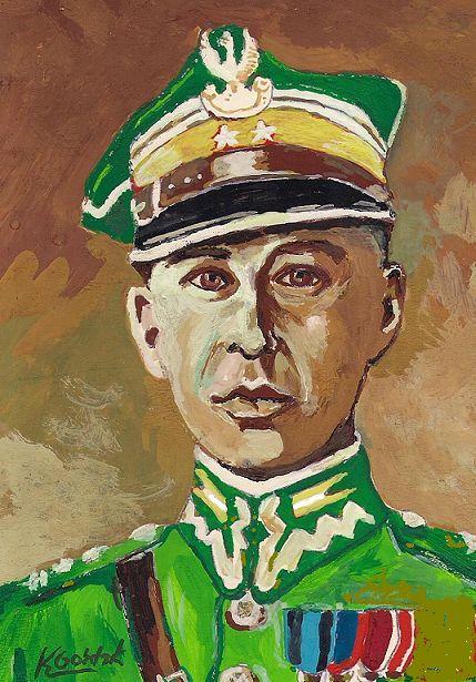 Gożdzik Krzysztof. Полковник Edward Godlewskieg.