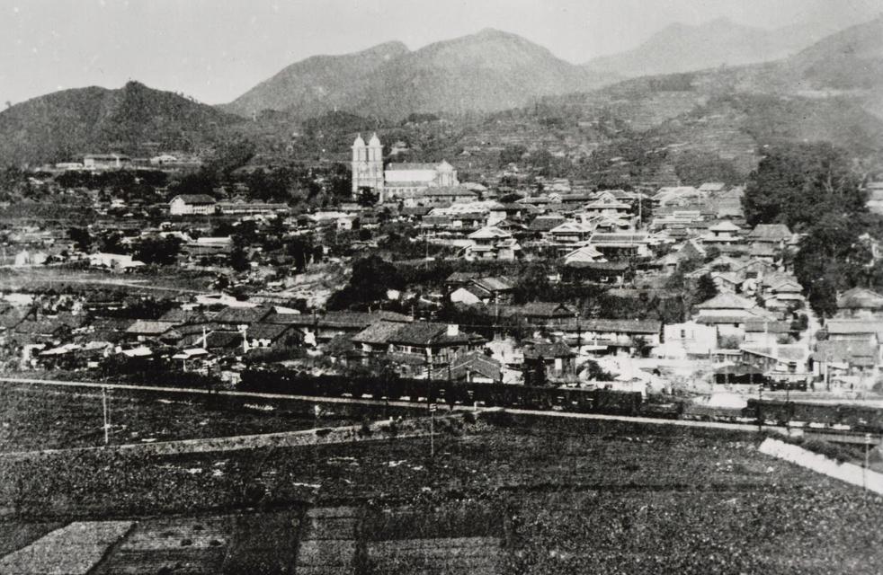 Окраины Нагасаки. 1945 г.