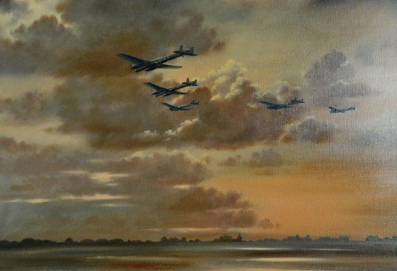 Jones John. Вылет бомбардировщиков.