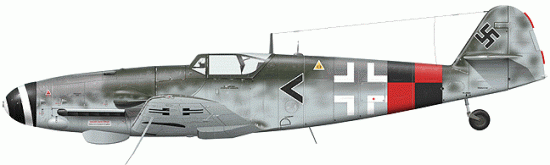 Tullis Tom. Истребитель Bf-109 G-10.
