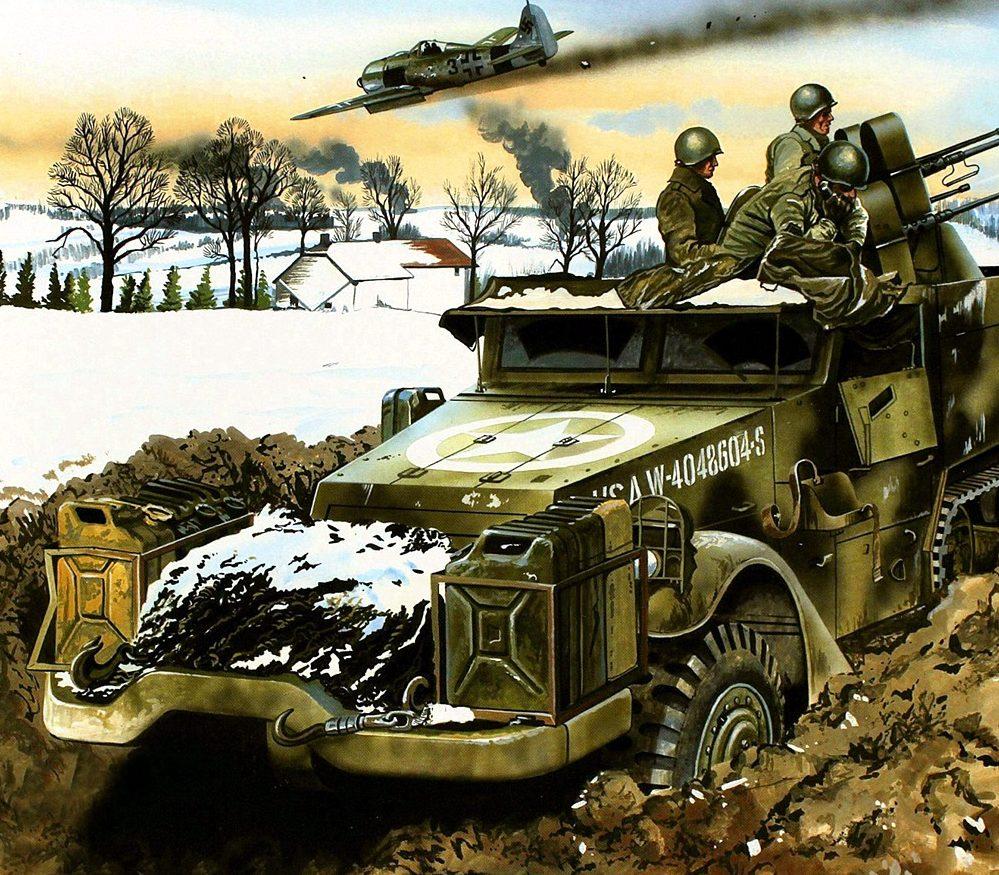 Greer Don. ЗСУ Bodenplatte M-16 Quad.