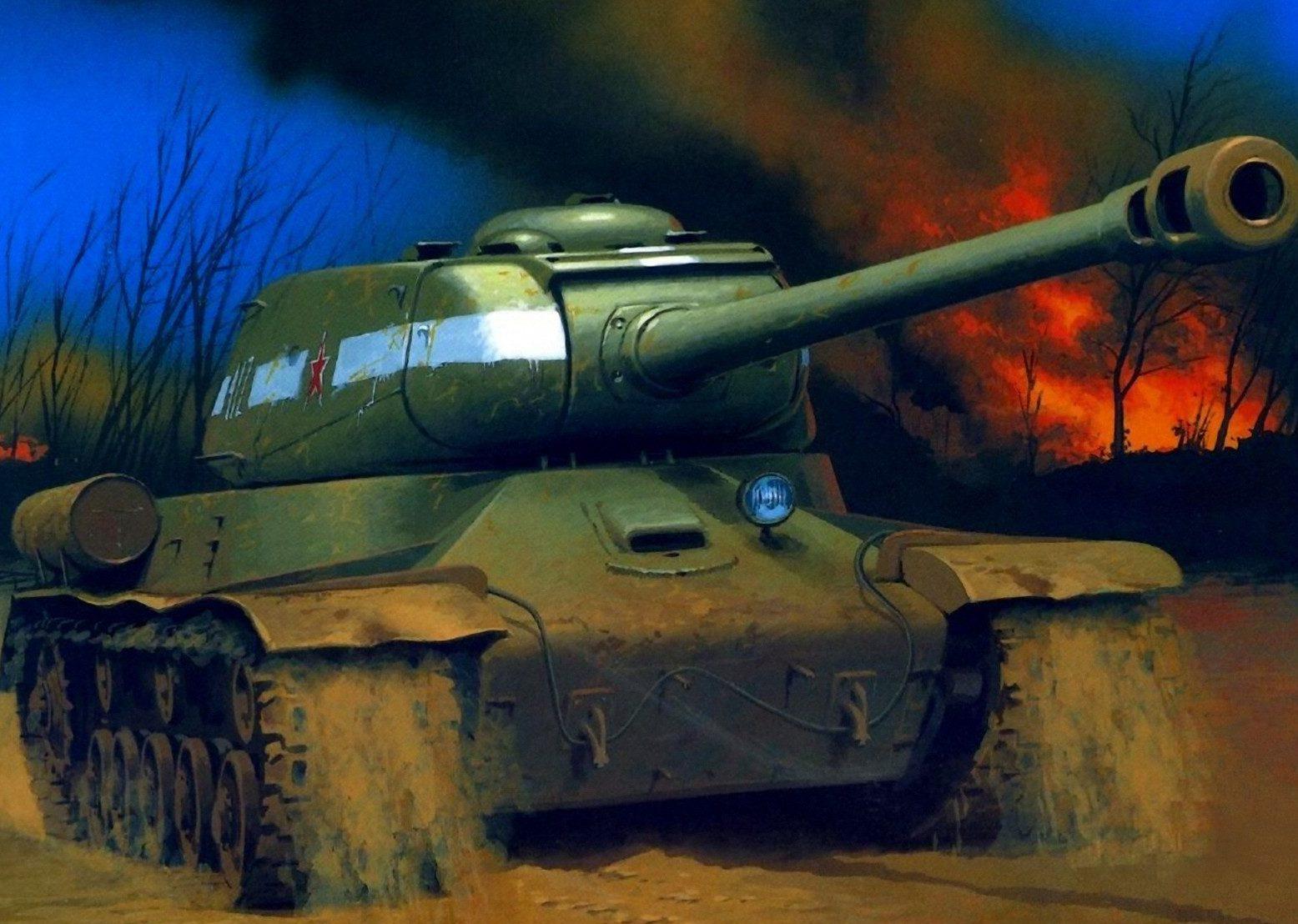 Wróbel Arkadiusz. Тяжелый танк ИС-2.