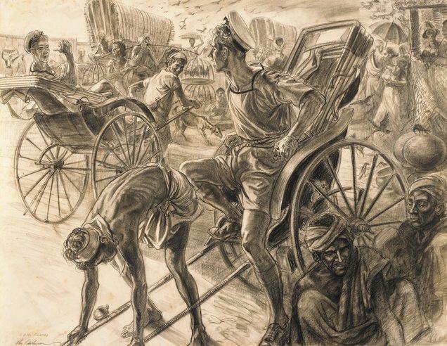 Hodgkinson Roy. Путешествие на рикше.