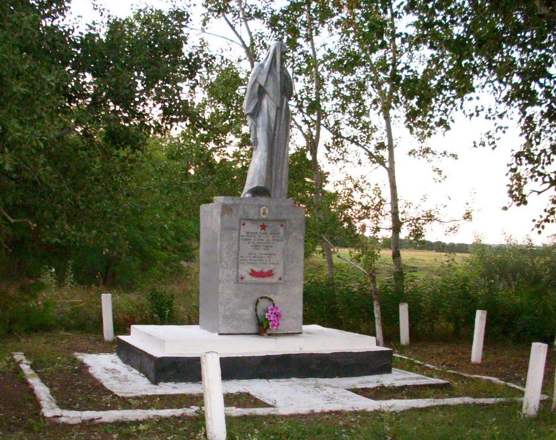 с. Бакаловое Раздельнянского р-на. Памятник воинам, погибшим в годы войны.