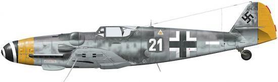 Tullis Tom. Истребитель Bf-109 G-14.