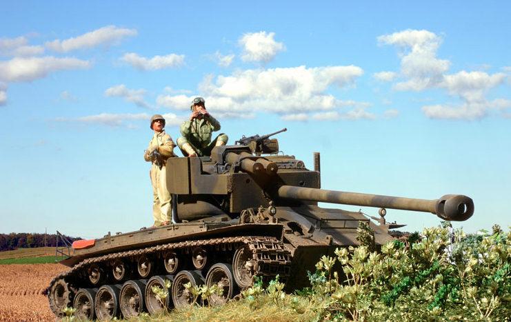 Zaloga Steven. Танк T-26E4 SuperPershing.