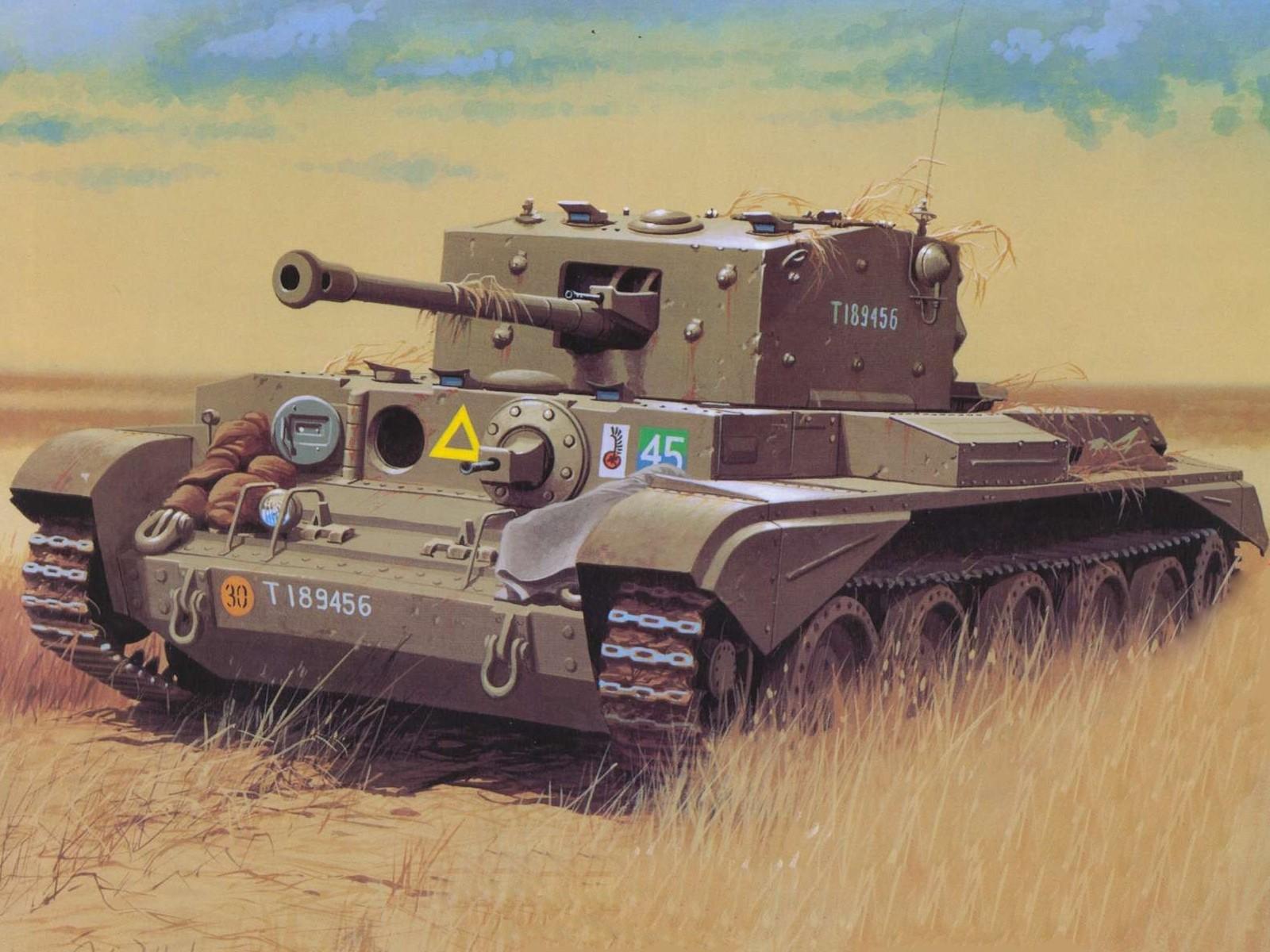 Wróbel Arkadiusz. Танк Cromwell.