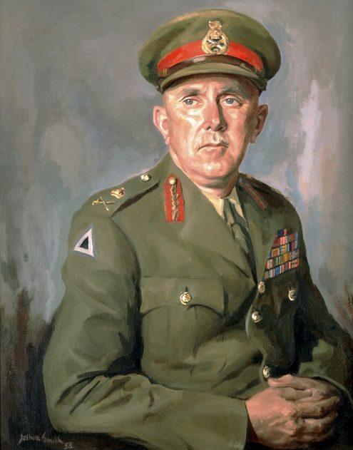 Smith Joshua. Генерал -лейтенант Frank Berryman.