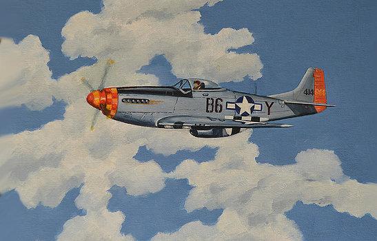 McLeod Murray. Истребитель P-51 Mustang.