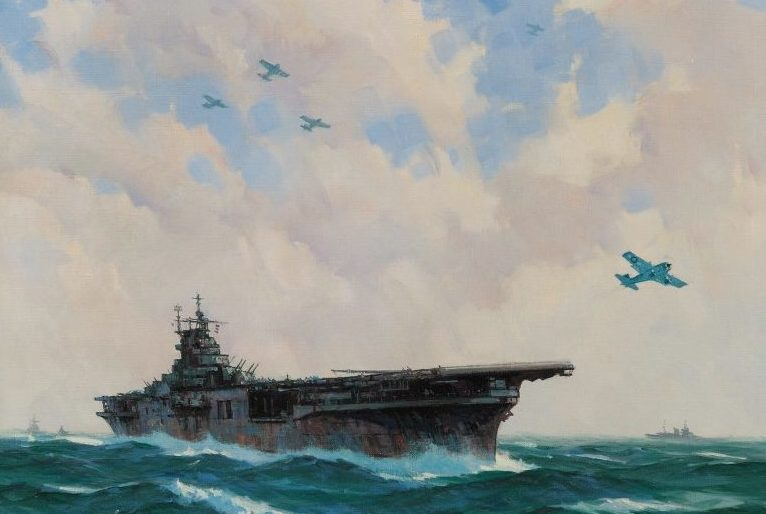 Grant Gordon. Авианосец «Yorktown».