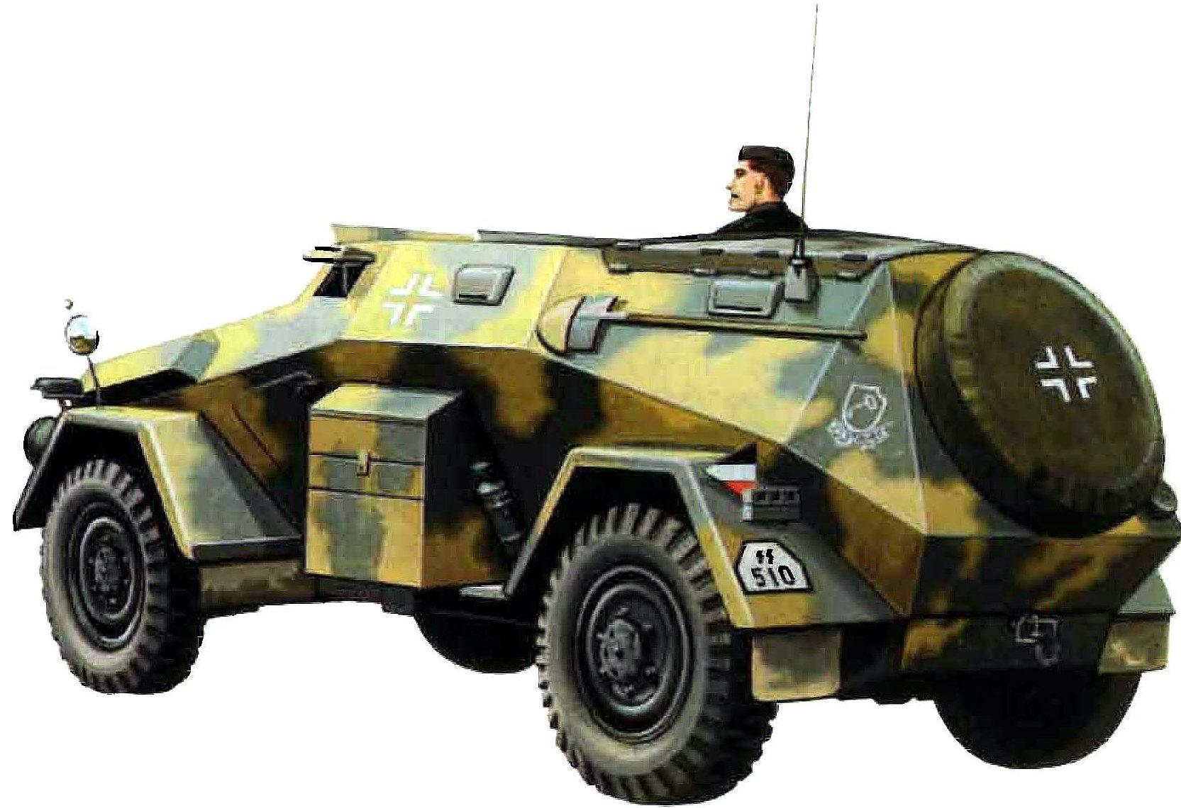 Greer Don. Бронеавтомобиль Sd.kfz. 247.