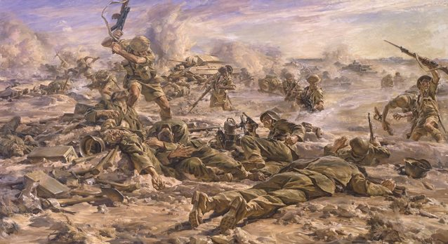 Hele Ivor. Операция Bulimba. Египет, 1942 г.