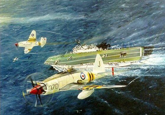 Wilson Randall. Авианосец «Eagle».