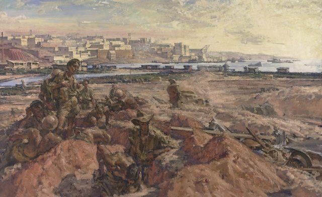 Hele Ivor. Tobruk