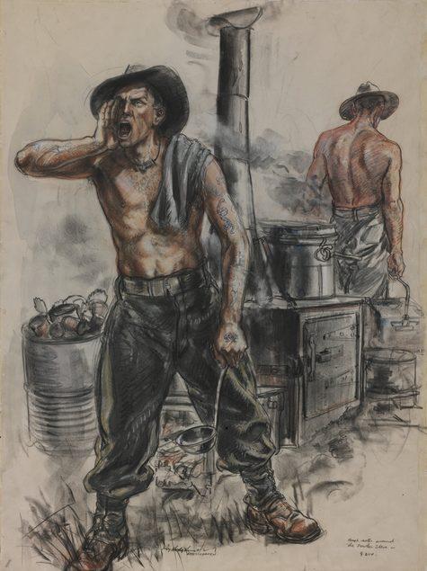 Hodgkinson Roy. Полевая кухня.