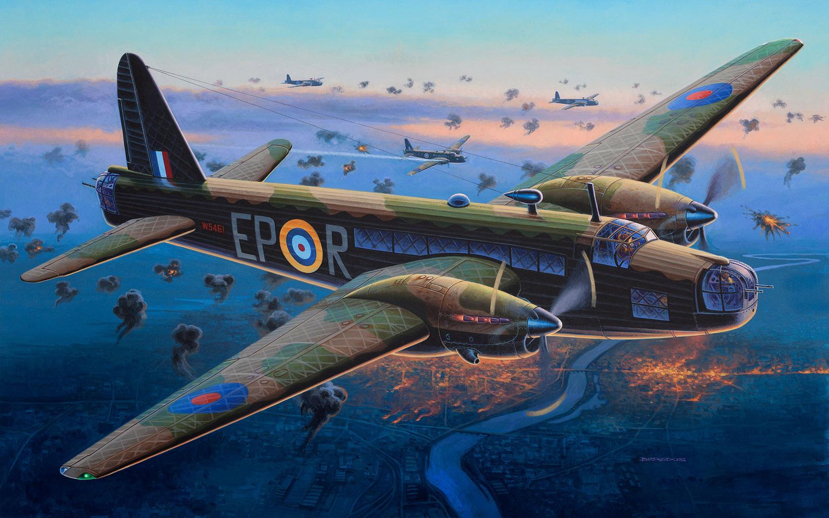 Deredos Andrzej. Бомбардировщик Vickers Wellington Mk.II.