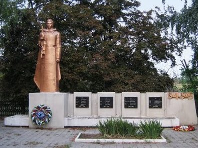 с. Кучурган Раздельнянского р-на. Мемориал погибшим советским воинам, погибшим в годы войны.