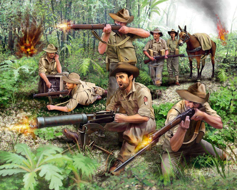Auletta Vincenzo. Австралийская пехота.