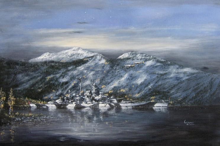 Scarpaci Wayne. Линкор «Tirpitz».