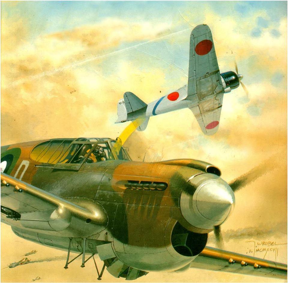 Wrobel Jaroslaw. Истребитель Р-40.