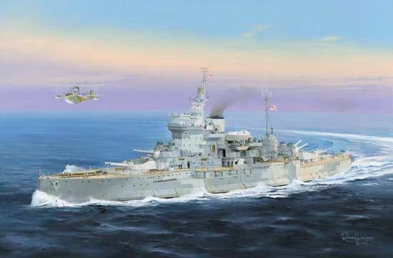 Wilson Randall. Линкор «Warspite».