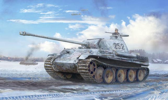 Karvon Mark. Танк Panther.