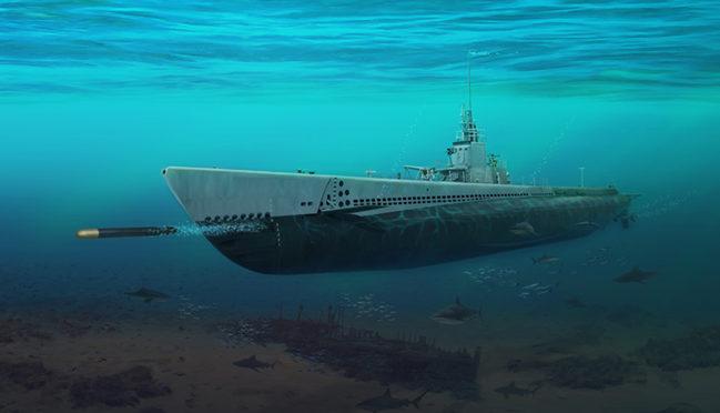 Karvon Mark. Подводная лодка SS-238.
