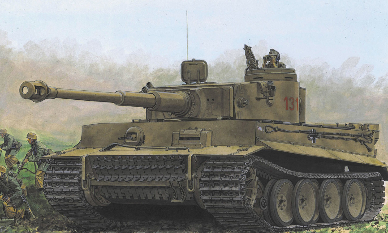 Volstad Ronald. Танк Panzer VI Ausf. Е.