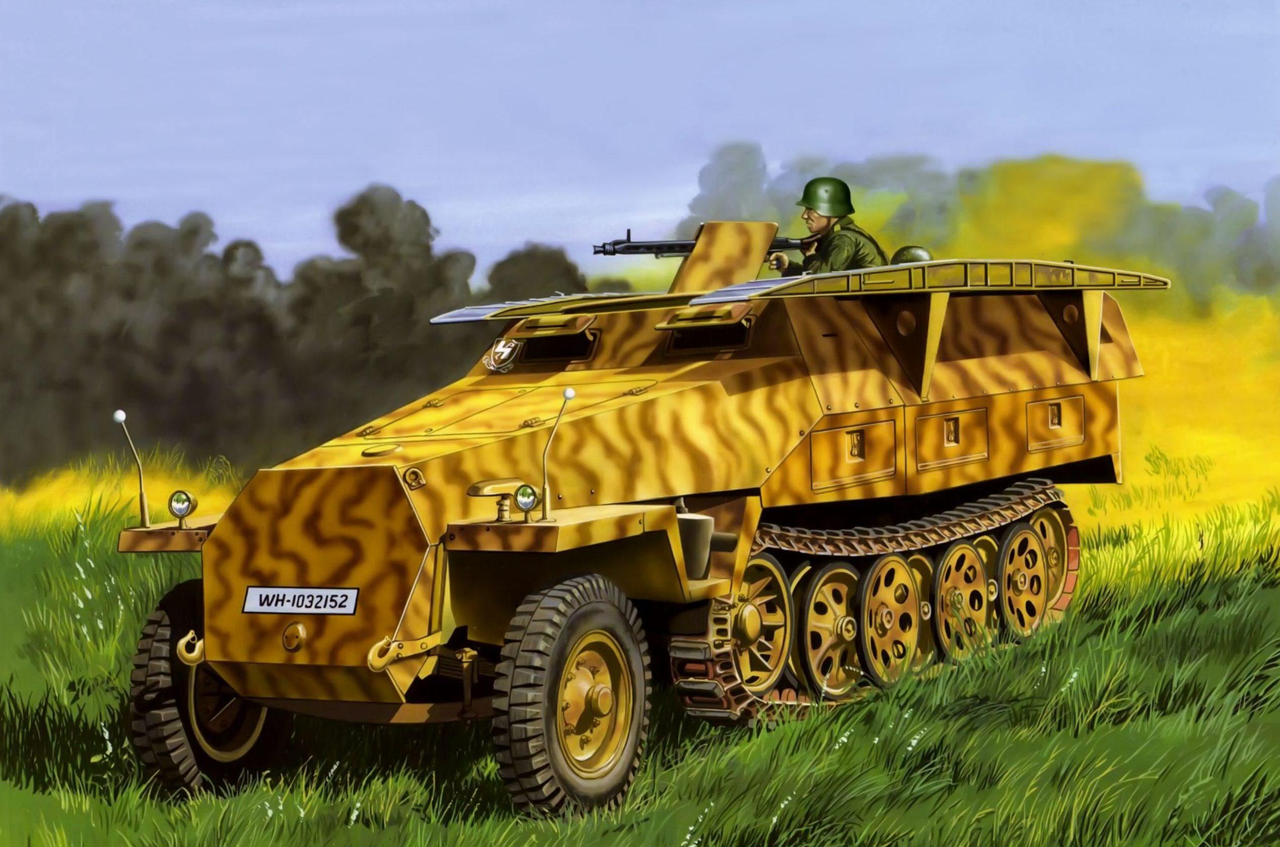 Greer Don. Бронеавтомобиль Sd.kfz. 251.