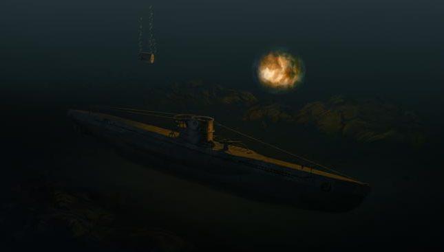 Karvon Mark. Под глубинными бомбами.