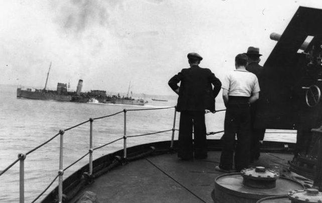 Возвращение из Дюнкерка. 31 мая 1940 г.