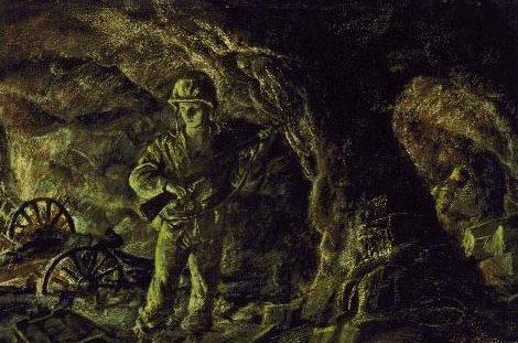 Benney Robert. Зачистка пещеры.