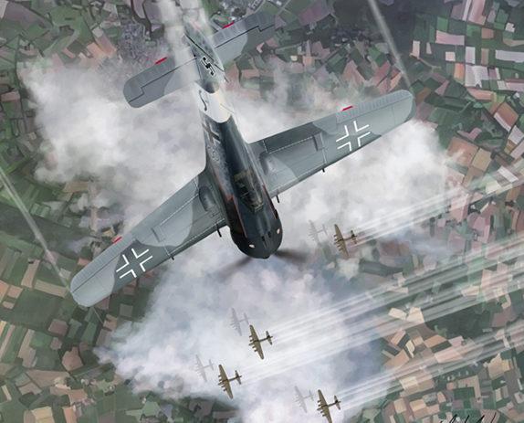 Karvon Mark. Истребитель Fw 190A-8.