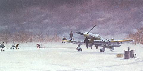 Bourgeois Ardell. Зимний аэродром.
