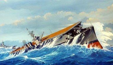 Flood James. Авианосец «Langley».