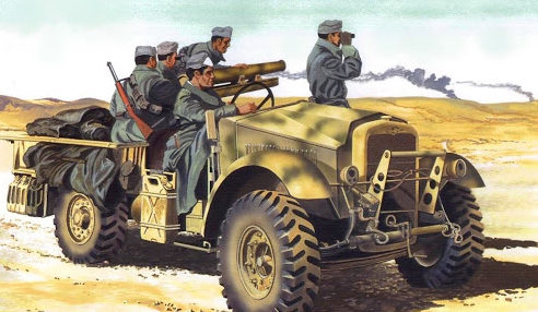 Greer Don. Артиллерийский грузовик.
