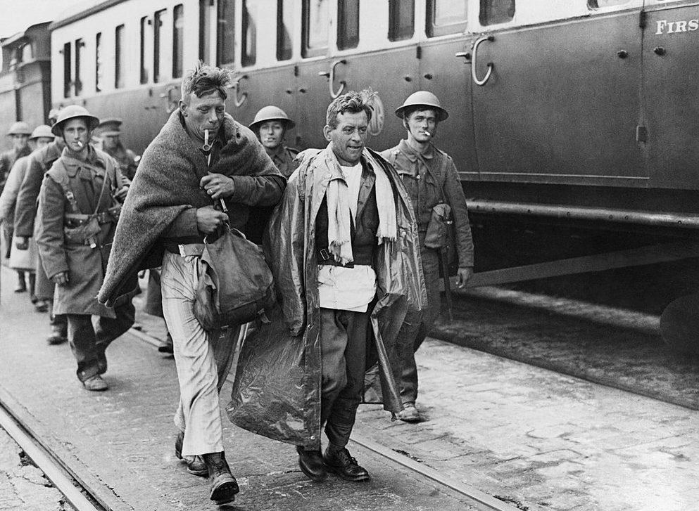 Эвакуированные войска из Дюнкерка. Довер, 31 мая 1940 г.