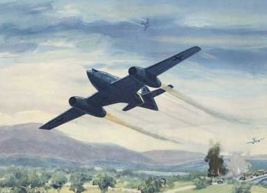 Hubbell Charles. Реактивный истребитель Ме-262.