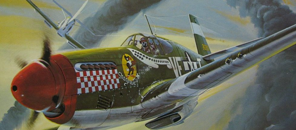 Leynnwood Jack. Истребитель P-51B Mustang.