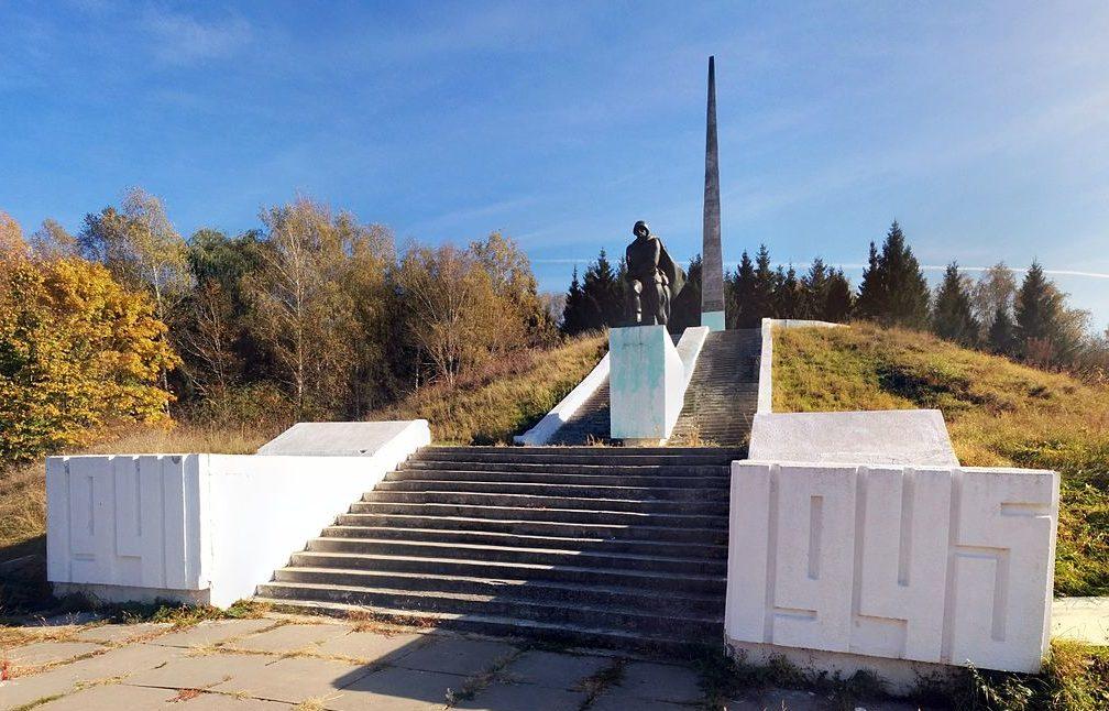 с. Большая Снитынка Фастовского р-на. Памятник односельчанам, погибшим в годы войны.