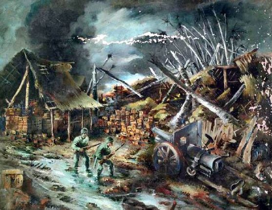Frede Vidar. Война.